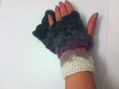 Gradient mittens Mittens arm warmers by CristinaMyCrochet on Etsy