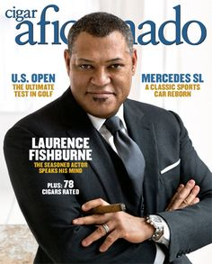 Laurence Fishburne Good Cigars, Cigars And Whiskey, Celebrity Photographers, Portrait Photographers, Smoking Is Bad, Cigar Art, Cigar Room, Classic Sports Cars, Dapper Men
