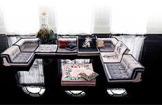 Mah Jong sofa by Jean-Paul Gaultier