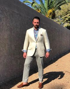 Mens Floral Dress Shirts, Floral Dress Design, Fashion Models, Mens Fashion, Suit Accessories, White Suits, Tailored Suits, Bespoke, Brother
