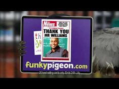 Funky Pigeon, Tv Ads, Your Teacher, Free Uk, Don't Forget, Delivery, Make It Yourself, Star