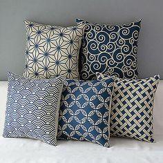 JW_ Geometric Linen Pillow Case Waist Throw Cushion Cover Home Sofa Decor Reli Sofa Throw, Throw Pillow Cases, Cushions On Sofa, Throw Pillows, Linen Pillows, Decorative Pillows, Cotton Pillow, Cotton Linen, Sofa Cushion Covers