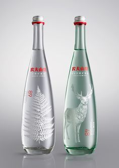Horse - Nongfu Spring Mineral Water — World Packaging Design Society / 世界包裝設計社會 / Sociedad Mundial de Diseño de Empaques Water Packaging, Water Branding, Beverage Packaging, Bottle Packaging, Brand Packaging, Design Packaging, Coffee Packaging, Food Packaging, Water Bottle Design