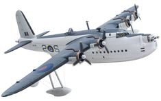 Corgi Aviation Archive Short Sunderland Flying Boat, Raptor and Lightning II at RIAT and Offers of the Week. Navy Aircraft, Ww2 Aircraft, Military Aircraft, Diecast Model Aircraft, Diecast Models, Docks For Sale, Short Sunderland, Pembroke Dock, Airfix Models