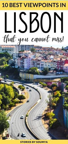 The 10 best views of Lisbon that you cannot miss. Lisbon, the city of hills, will treat you to some amazing views. Here are tips and tricks to get to these wonderful Lisbon miradouros including some really offbeat ones. No jostling for space there. #Lisbon #Portugal Solo Travel Europe, Road Trip Europe, Places In Europe, Backpacking Europe, Europe Travel Guide, Europe Destinations, Best Places To Travel, Cool Places To Visit, Best Places In Portugal