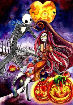 Love in Halloween Town by Sayaka-ssi