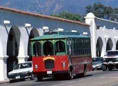 Trolley Rides in Ojai // Hop on the trolley at the Ojai Valley Inn & Spa and take a leisurely trip downtown to shop, explore galleries, eateries and wine tasting rooms.