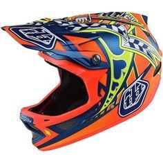 Troy Lee Designs D3 Longshot Adult MTB Helmets
