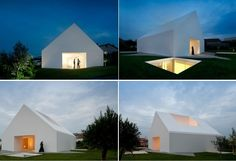 Жилой дом House in Leiria от Aires Mateus Architects в Португалии