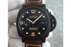 Panerai PAM 661 Carbotech V6F Best Edition on Asso Leather Strap P9010