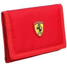 Červená Peňaženka Scuderia Ferrari