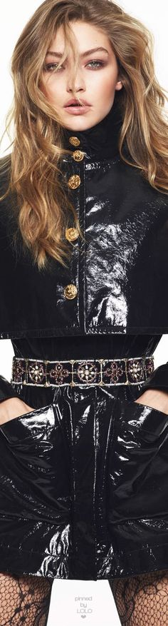 Gigi Hadid Vogue Paris by Mert & Marcus | LOLO❤︎