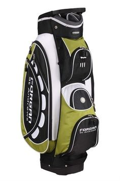 Forgan of St Andrews PRO ll Green   White Cart Golf Bag  Misc.  d282b5dca16a9