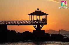 Una vista preciosa al atardecer desde el Centro Naval del Perú en #Ancón. . Si te gusta la foto compártela tagueando a quienes más quieras . Gracias por compartir @gisele_leonPara ser destacados:Agrega #IgersPeruSigue a @IgersPeru . by igersperu