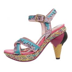 Ninety Nine | Irregular Choice Ice Cream heeled shoes!
