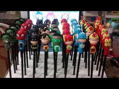 Ponteiras para lapíz super heroes