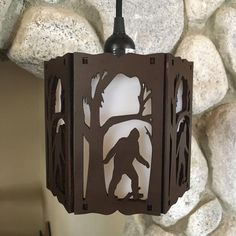 Bigfoot Pictures, Bigfoot Pics, Bigfoot Sasquatch, Laser Cutter Ideas, Laser Cutter Projects, Barn Wood Projects, White Acrylics, Vacuum Forming, Clematis