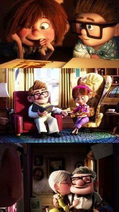 #Disney #Up  I wanna be like Carl and Ellie!