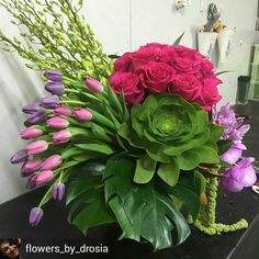 Beautiful flora arrangement