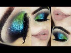 Maquiagem Sereia Noturna - Makeup Tutorial Monster High
