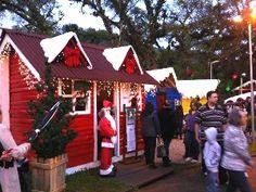 Turistas podem conferir a decoração de Natal em Campos de Jordão na Serra Paulista. (Foto: Karen Schmidt/ TV Vanguarda)