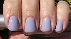 """soulstice """"provence is a nice lavender creme. this went on smooth and easy, not chalky at all."""""""
