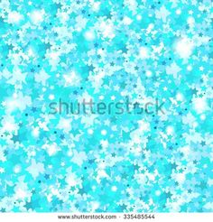 Bright and glow background in shades of blue. The sparkles in the form of stars. Blue shiny texture. Blue background. Iridescent and sparkling New Year and Christmas background, texture, pattern.  - stock vector