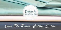 Siebenblau Bio-Pima-Cotton-Satin
