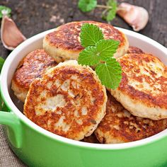 These hash brown cakes are easy to make and a tasty treat.