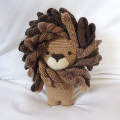 Crochet pattern Boris the lion  Amigurumi pattern