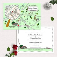 Whimsical stationery company Cute Maps have been creating bespoke map invitations for six years. These quirky creations are guaranteed to be a talking point amongst your guests and also a lasting keepsake. Individually tailored to depict an enticing visual story of your special day, the collection ranges from full stationery suites to simple postcards so there's something to suit all tastes and budgets.