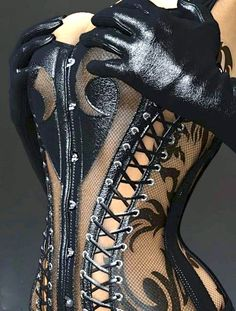 londonwarrior:    'Don't Mess With Me' Corset