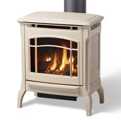 The Stowe 8323 gas stove strikes a harmonious balance between size and heat output. The Stowe provides cozy ambiance with efficient on-demand fire. Free Standing Gas Stoves, Direct Vent Gas Stove, Stove Fireplace, Gas Fireplaces, Free Gas, Safe Glass, Living Room Remodel, Indoor Air Quality, Cast Iron