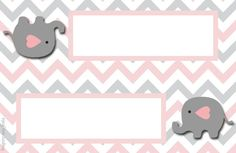 Cierre bolsita golosinas Elephant Nursery Girl, Elephant Party, Baby Elephant, Peanut Baby Shower, Baby Shower Niño, Imprimibles Gratis Baby Shower, Boarders And Frames, Baby Girl Shower Themes, Printable Pictures