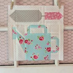 Here are the last couple of blocks I designed for my Farm Girl Quilt. And, they also happen to be my very last two Farm Girl blocks! I love gardening, so I thought a watering can and garden spade would be the perfect block to add to my quilt. This...