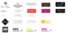 Logo options for a designer boutique Identity Design, Boutique, Logos, Boutiques, Logo, Legos