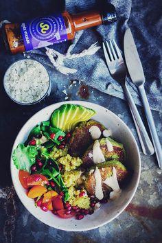 Vegetariska biffar med quinoa + Matsmart.se