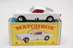 Matchbox Lesney #8 Ford Mustang Fastback With Original Box Truck Vintage Toy collection now for sale by RememberWhenToys on Etsy