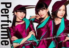"ptapino: ""Perfume 『ROCKIN'ON JAPAN』 3月号 """