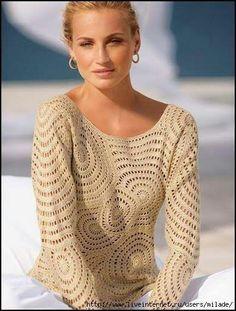 circle sweater