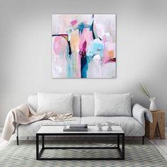 Morning Light abstract painting by Sarina Diakos - sarindiakos.com