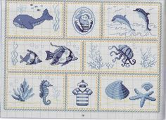 quilting like crazy Cross Stitch Sea, Cross Stitch Animals, Silk Ribbon Embroidery, Hand Embroidery Patterns, Cross Stitch Designs, Cross Stitch Patterns, Cross Stitching, Cross Stitch Embroidery, Le Point