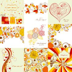 free vector Exquisite Hand-painted Patterns 01 - Vector Beautiful Pattern Lines graphic available for free download at 4vector.com. Check out our collection of more than 180k free vector graphics for your designs. #design #freebies #vector