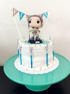Star Wars Rey cake