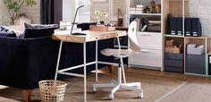 Nueva mesa escritorio Ikea de diseño escandinavo: LILLÅSEN