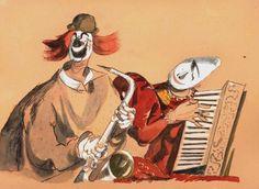 František Tichý – Svět, který se směje | VCG - Východočeská galerie Pardubice Circus Performers, Joker, Artist, Anime, Painting, Fictional Characters, Painters, Artists, Painting Art