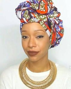 Check out this item in my Etsy shop https://www.etsy.com/listing/248414536/purple-african-headwrap-ankara-turban