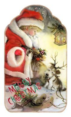 CHRISTMAS PRINTABLE TAG OR LABEL