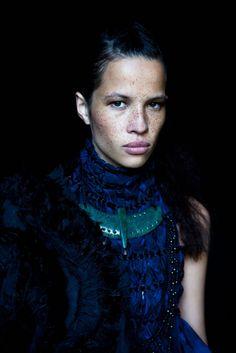 Danielle Hayes for He Kakano Ahau. Photographer David K. Shields. Maori Bay, NZ