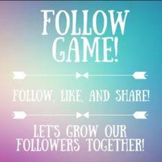 Follow Game! Get more followers! Like, Follow & Share! Michael Kors Bags Hobos